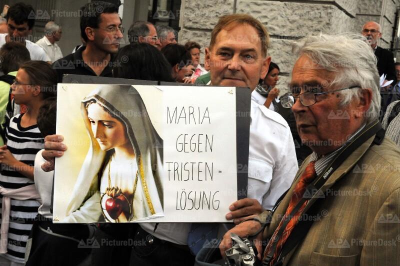 """Demonstation gegen """"Pro:Woman"""" in Wien"""
