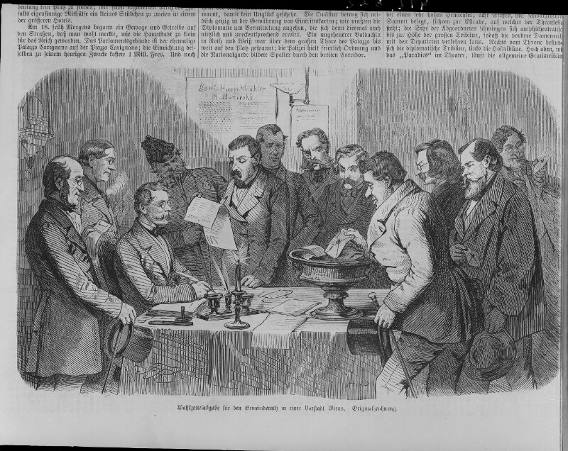 Gemeinderatswahlen in Wien 1861