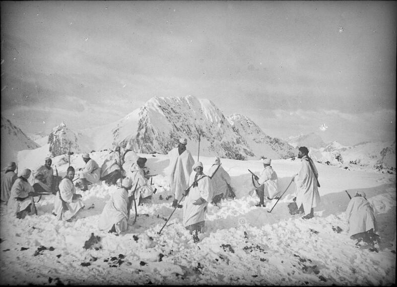 Kärntner Front 1916/1917, Patrouille auf der Rattendorfer Alpe