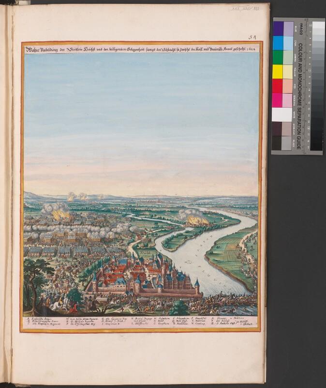 Die Schlacht bei Höchst 1622