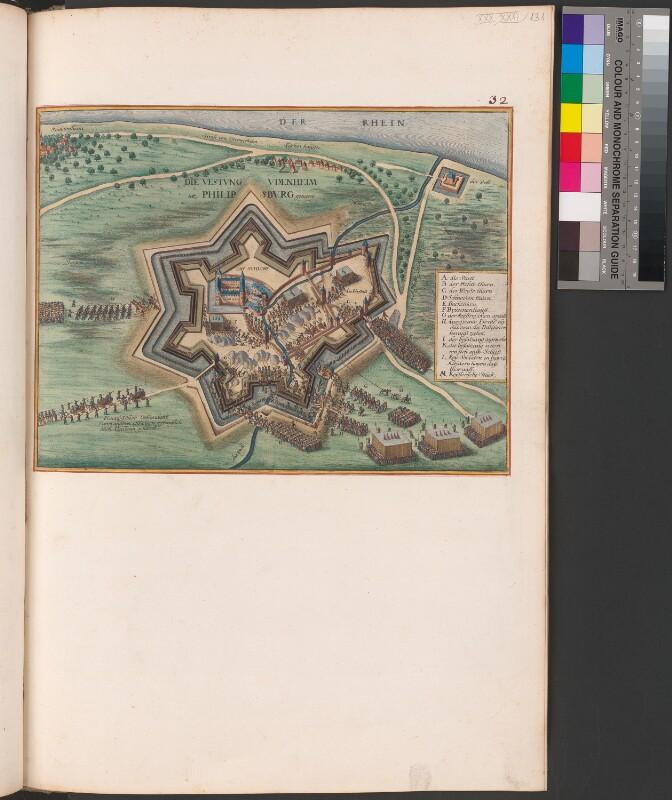 Plan von Philippsburg