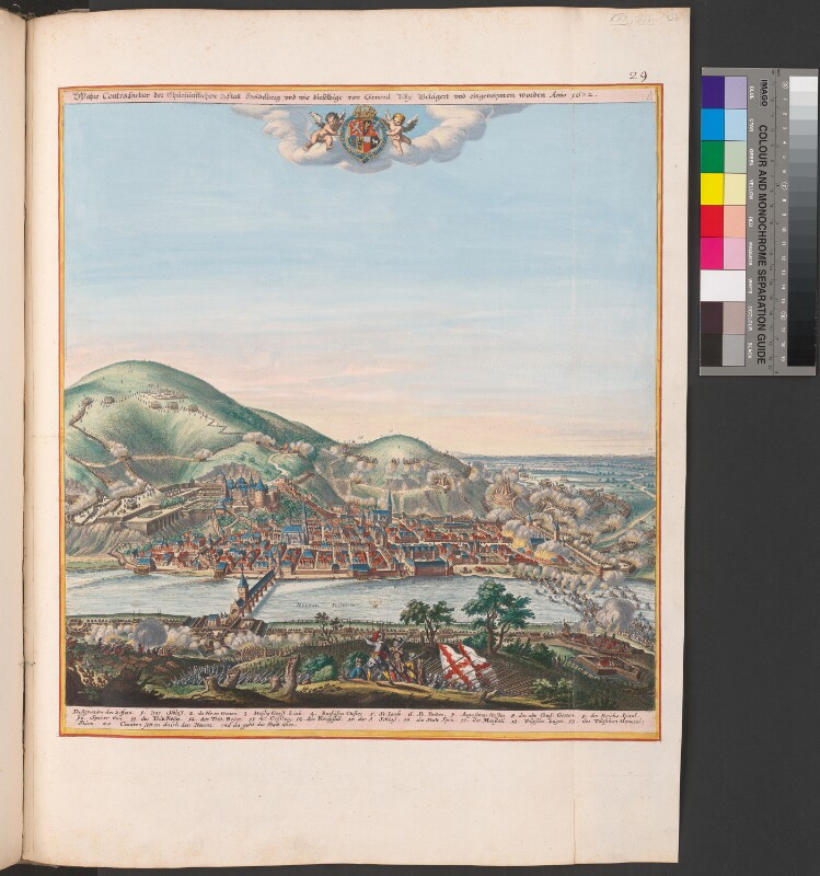 Die Belagerung von Heidelberg im Jahr 1622