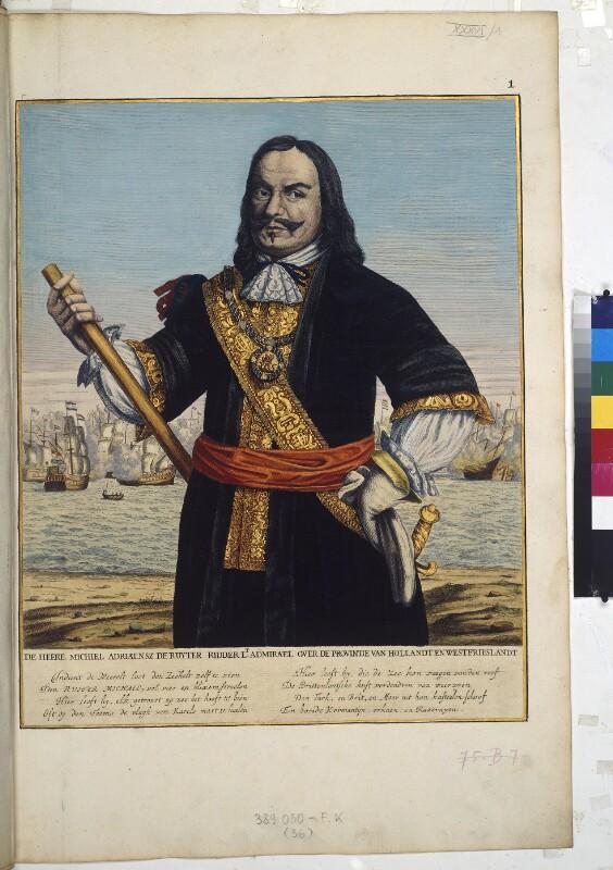 Portrait des Michiel Adriaensz. de Ruyter