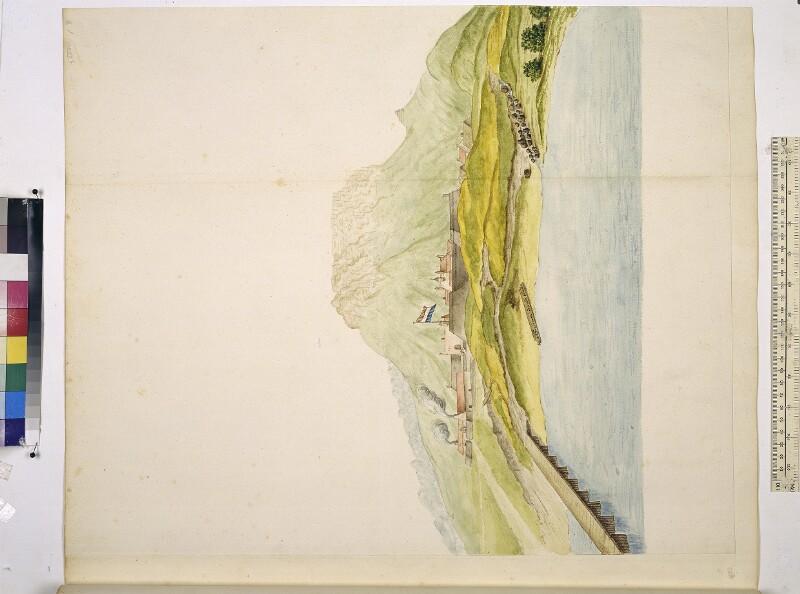 Ansicht des Tafelbergs