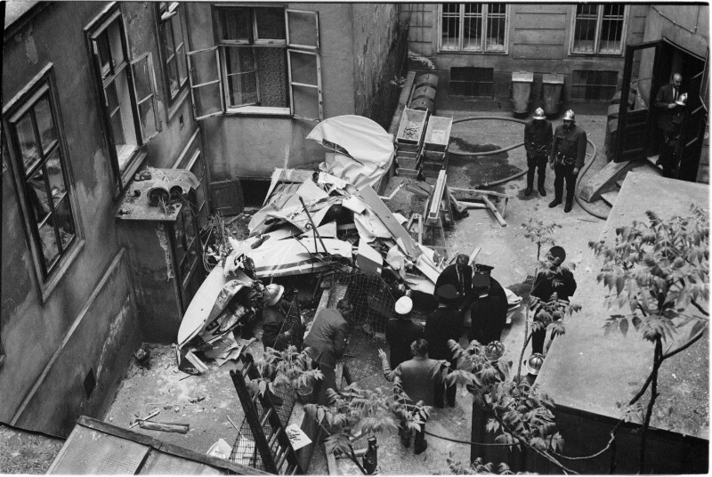 Flugzeugunglück in Wien