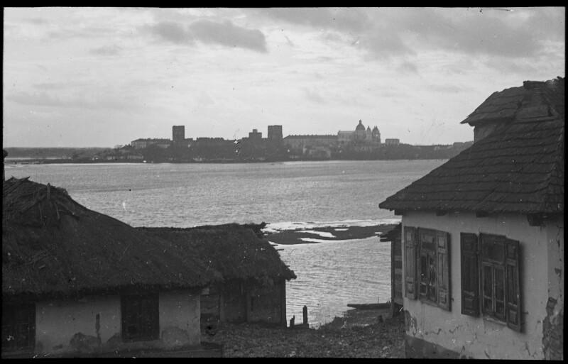 Blick auf den Ort Luck am Styr, 1916