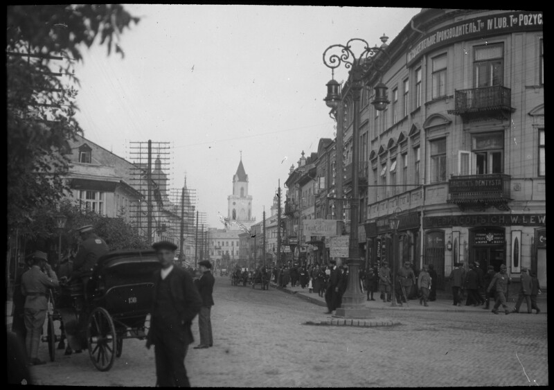 Ansichten von Lublin, 1916