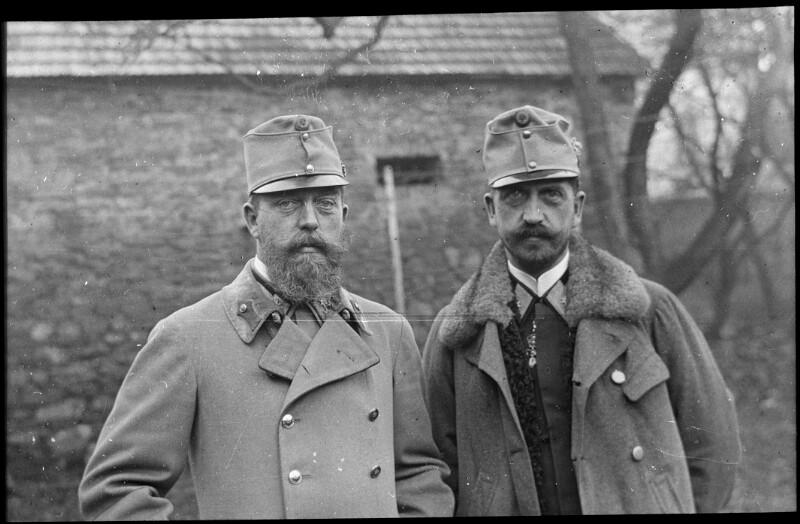Die beiden Erzherzoge Josef Ferdinand und Heinrich Ferdinand