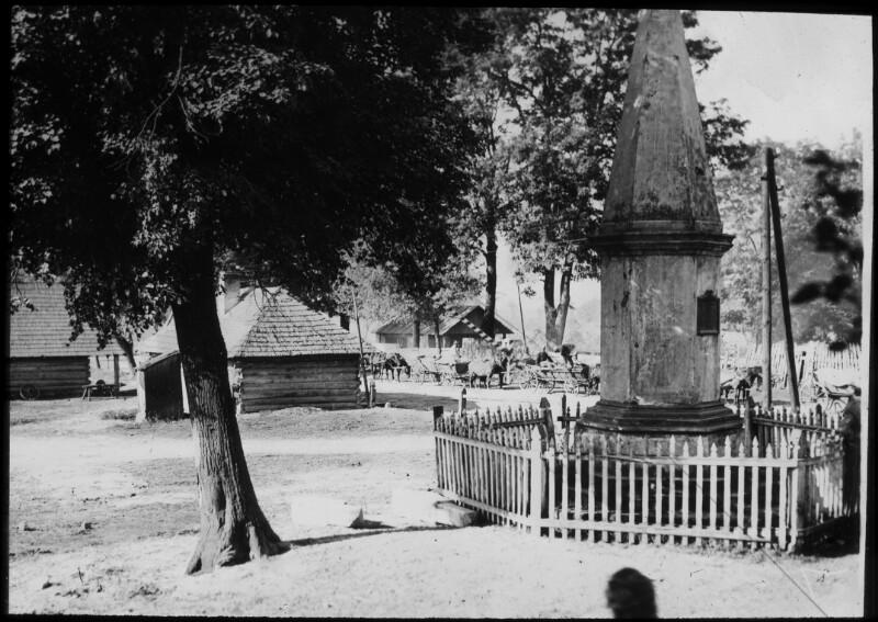 Denkmal für den polnischen König Johann Sobieski in Narol