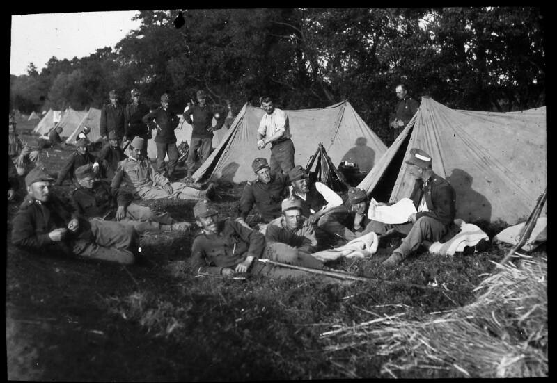 Lager der 10. Fliegerkompanie