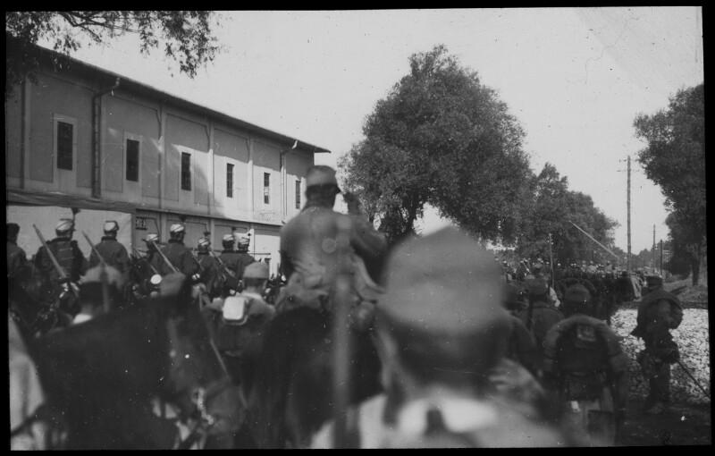 Einzug der k.u.k. Truppen in Kowel