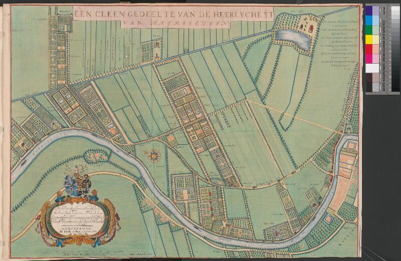 Landkarte der Grundherrschaft von Maarsseveen