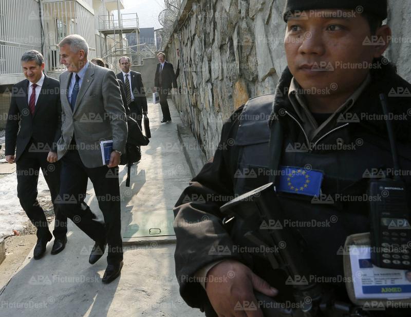 Aussenminister Spindelegger besucht Afghanistan