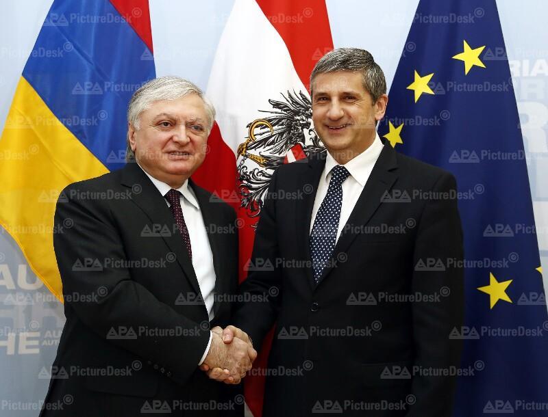 Armenischer Aussenminister Nalbandjan in Österreich