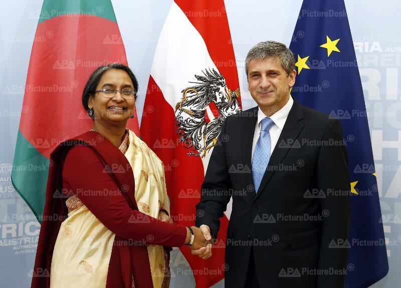 Aussenministerin von Bangladesch in Österreich