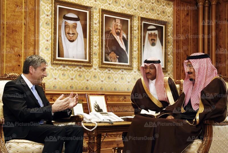 Aussenminister Spindelegger besucht Saudi Arabien