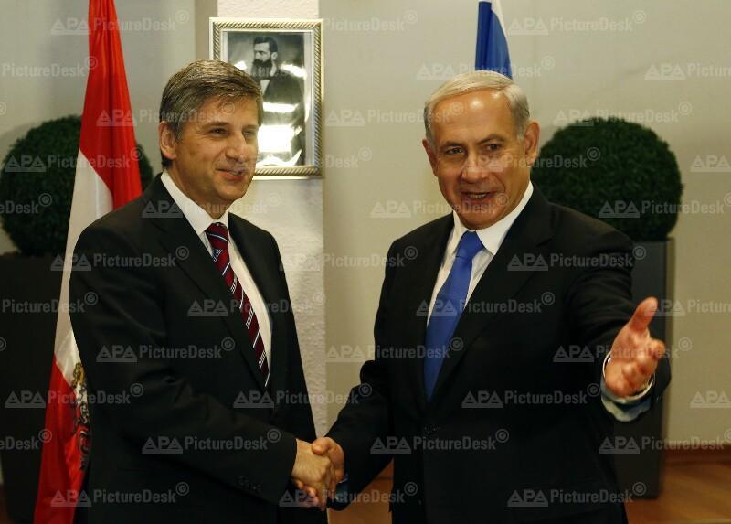 Außenminister Spindelegger in Israel