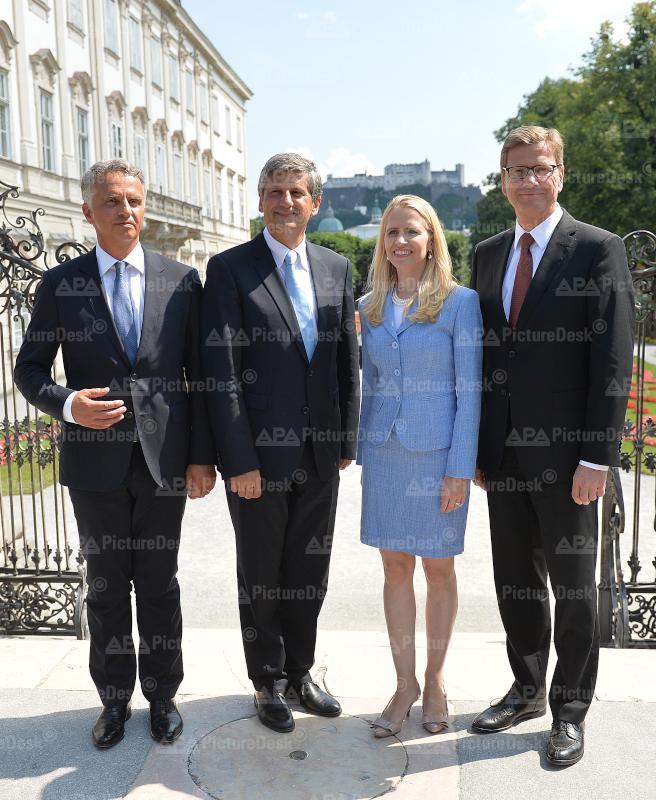 Arbeitsgespräch der Außenminister