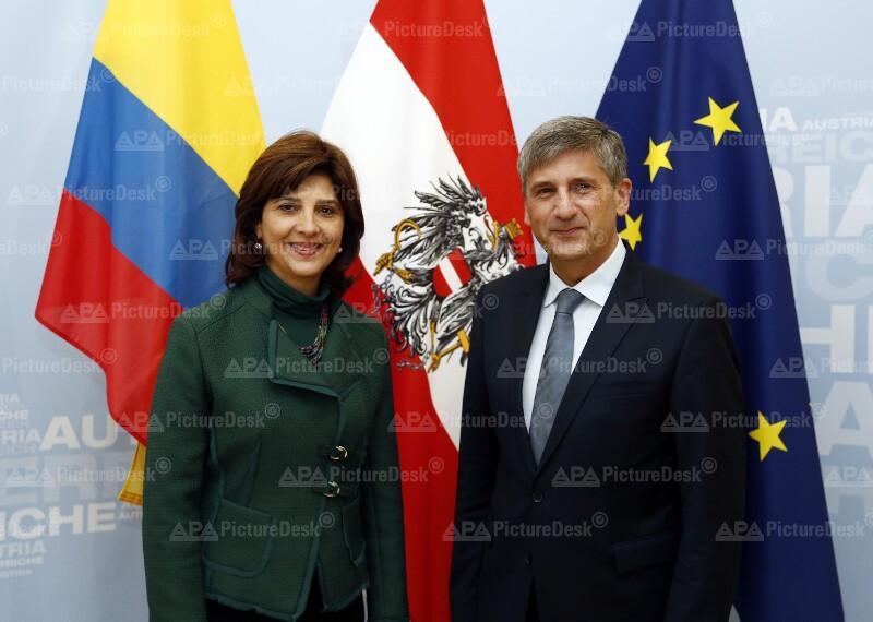 Außenminister Spindelegger trifft kolumbianische Außenministerin Holguin Cuellar