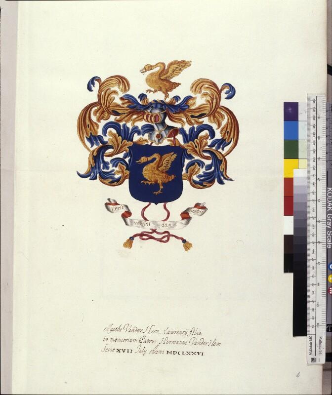 Wappen von Herman van der Hem