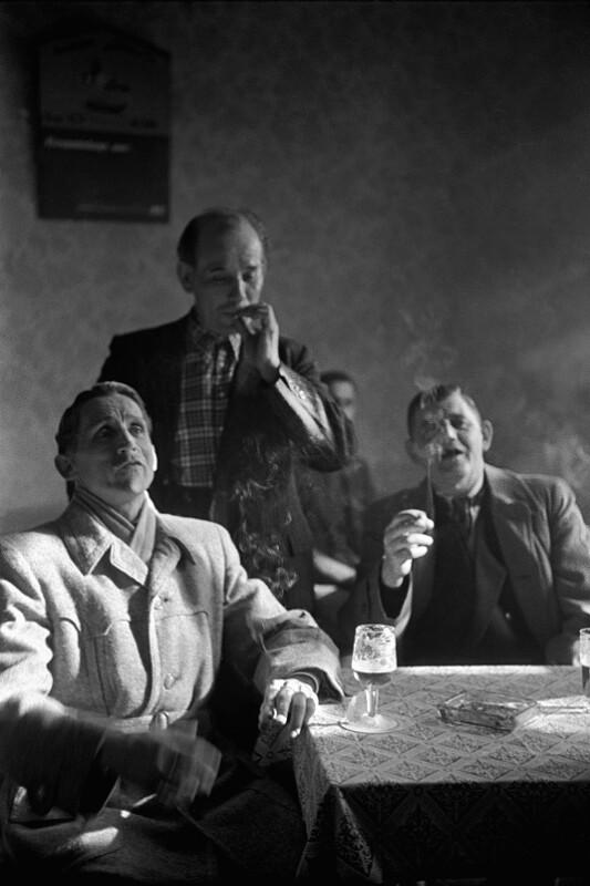 Drei Minenarbeiter von der Helenenmine in Altenessen