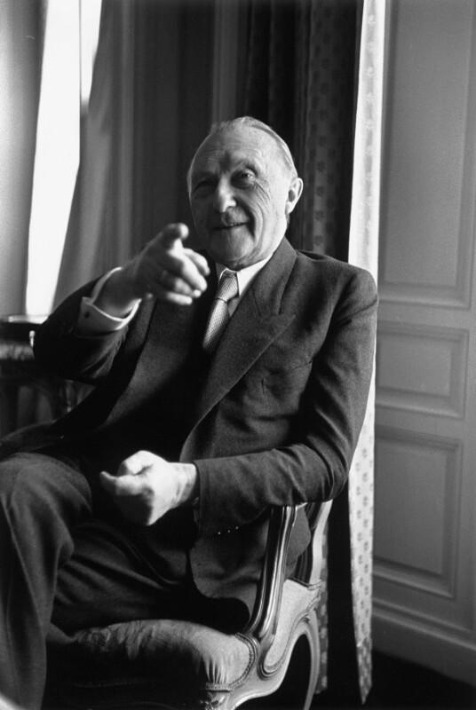 Kanzler von West-Deutschland, Konrad Adenauer (1876-1967)