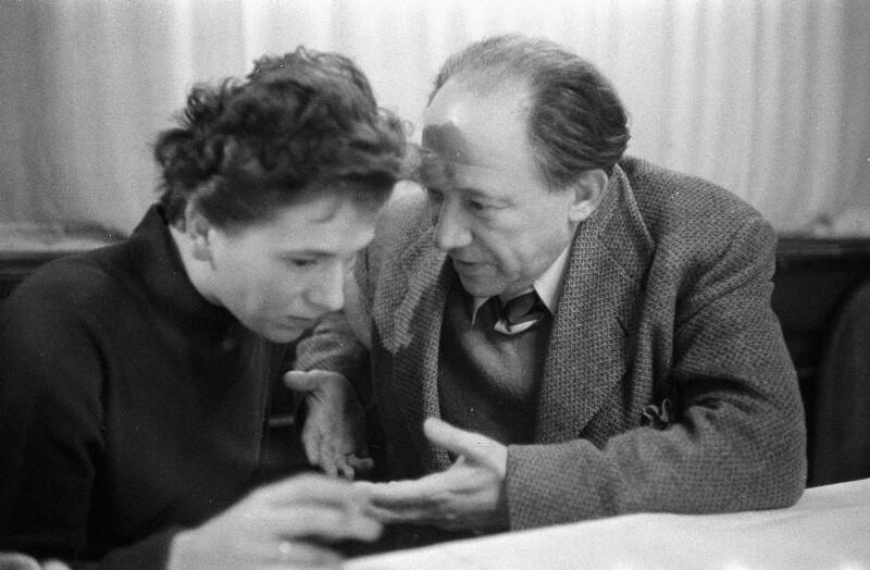 Martin Berliner und Traudl Lessing, 1955
