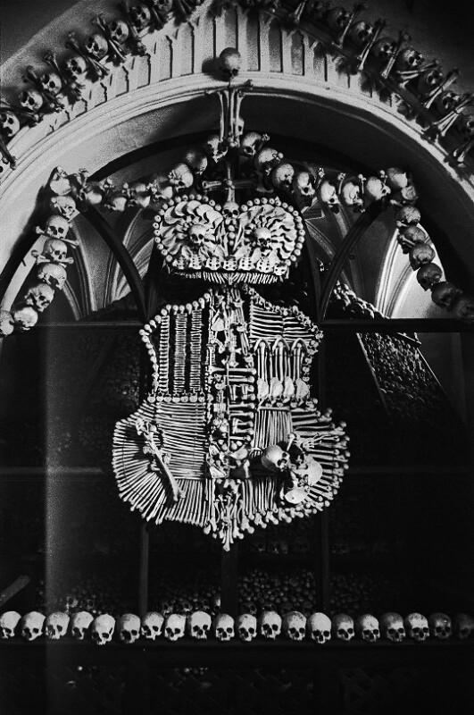 In der Begräbniskapelle der Schwarzenbergs in Kutna Hora.