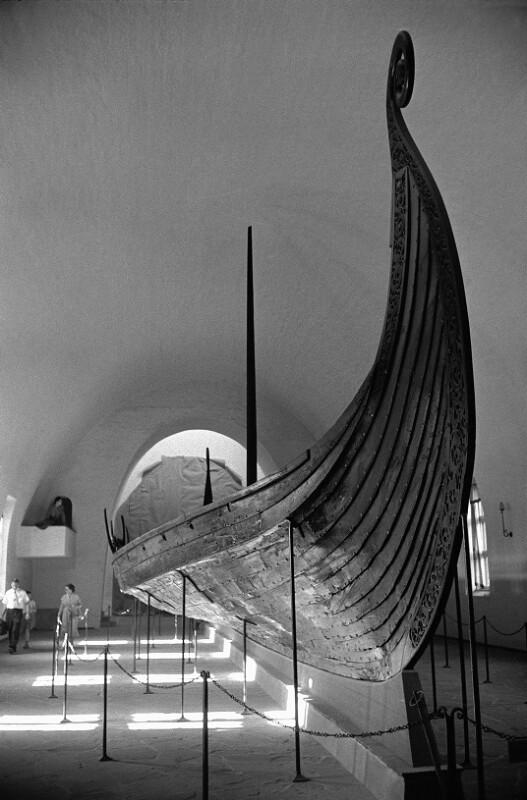 Wikingerschiff, Vikingskipshuset Museum, Oslo