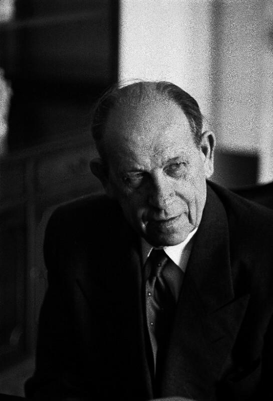 Präsident der Tschechoslowakei Antonin Zapotocky