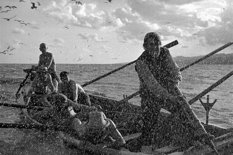 "Dreharbeiten zum Film ""Moby Dick"", Kanarische Inseln, 1954"