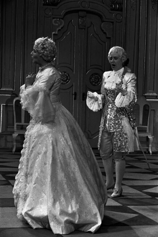 """Aufführung von Richard Strauss' """"Der Rosenkavalier"""", 1955"""