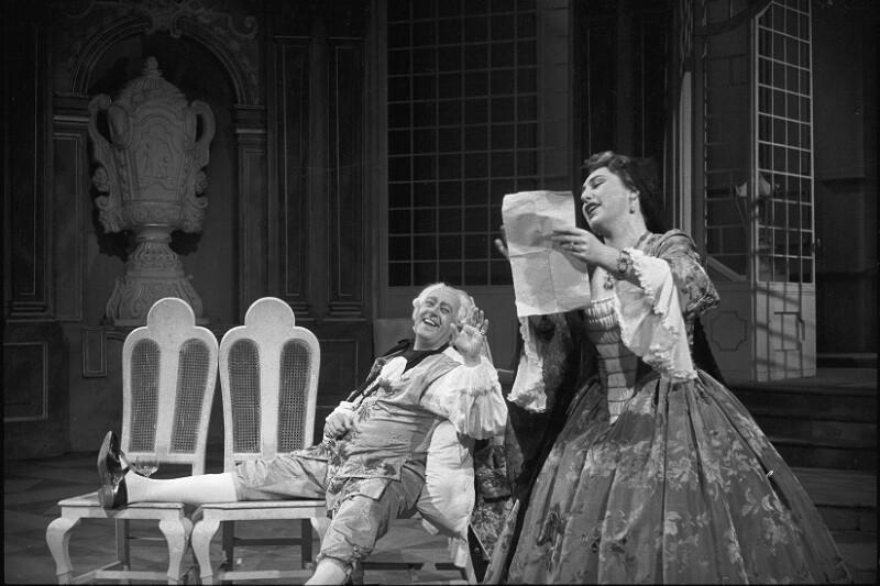 """Aufführung von Richard Strauss' Oper """"Der Rosenkavalier"""" an der Wiener Staatsoper"""