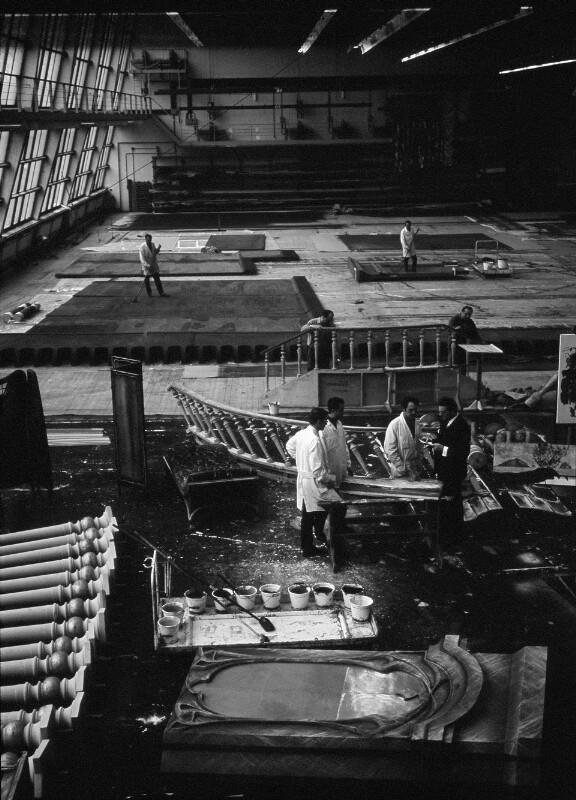 Bühnenbildnerwerkstatt der Wiener Staatsoper im Arsenal, Wien
