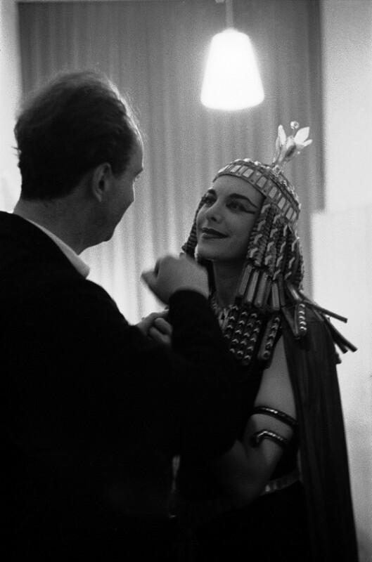 Dirigent Rafael Kubelik mit Sängerin Jean Madeira