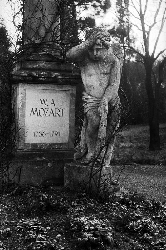 Mozarts Grab am Sankt Marxer Friedhof, Wien