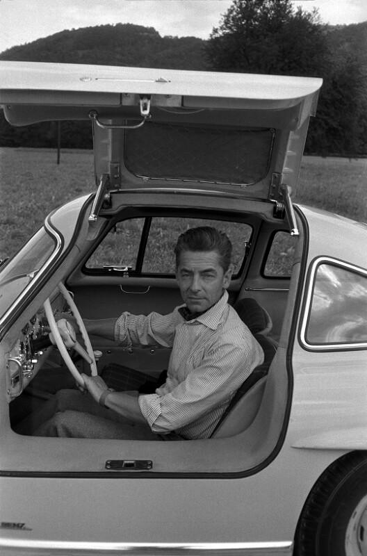 Karajan und sein Mercedes 300 SL