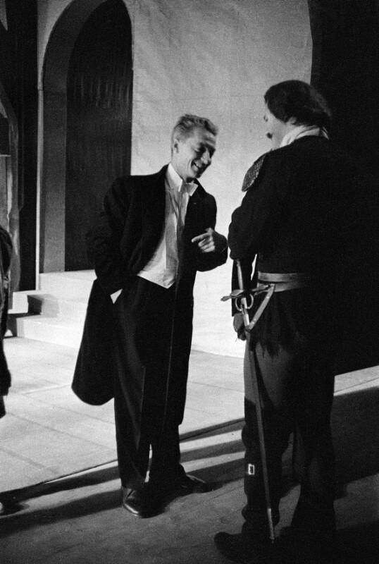 Herbert von Karajan während der Salzburger Festspiele, 1957