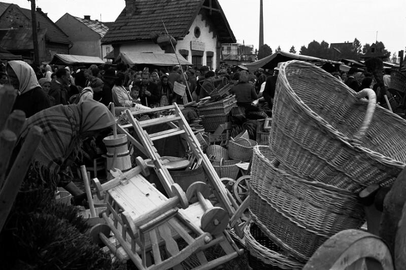 Am Markt von Nowy Targ, Polen