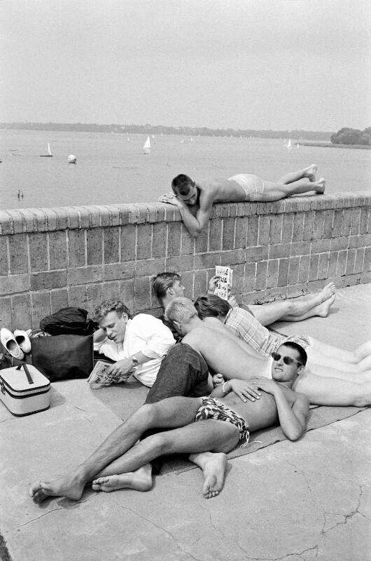 Am Wannsee, Berlin, 1955