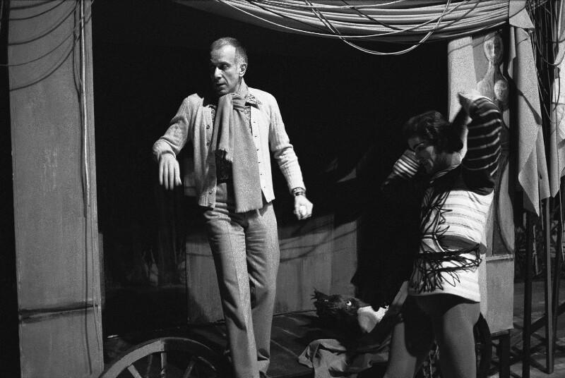 Der Choreograph Jerome Robbins an der Pariser Oper, 1973