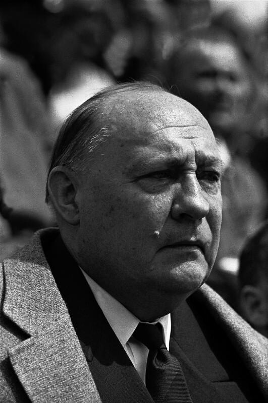 Hermann Ehlers, 1950-1954 Präsident des Deutschen Bundestages