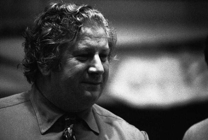 Peter Ustinov, Paris, 1973
