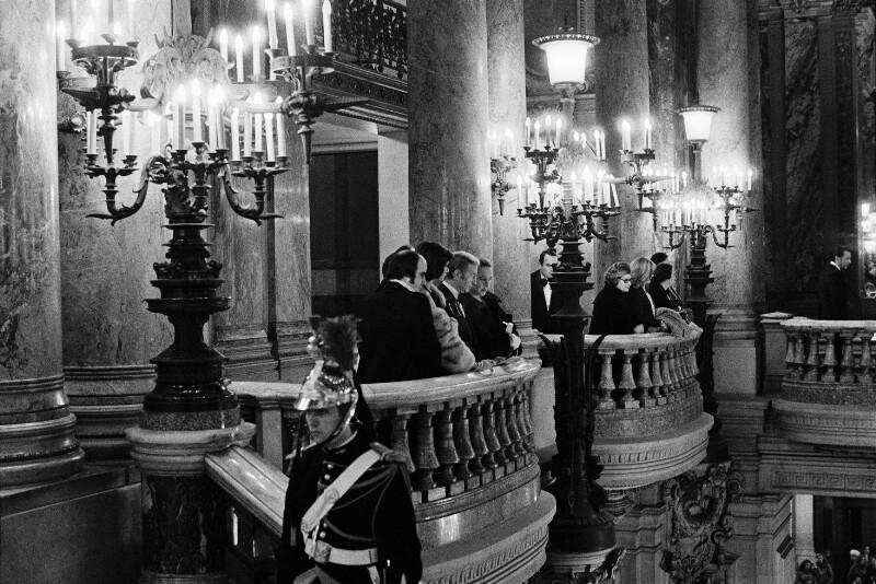 In der Pariser Oper im Palais Garnier, 1973