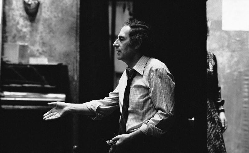 "Gian Carlo Menotti inszeniert Puccinis ""La Boheme"" im Pariser Opernhaus im Palais Garnier, 1973"