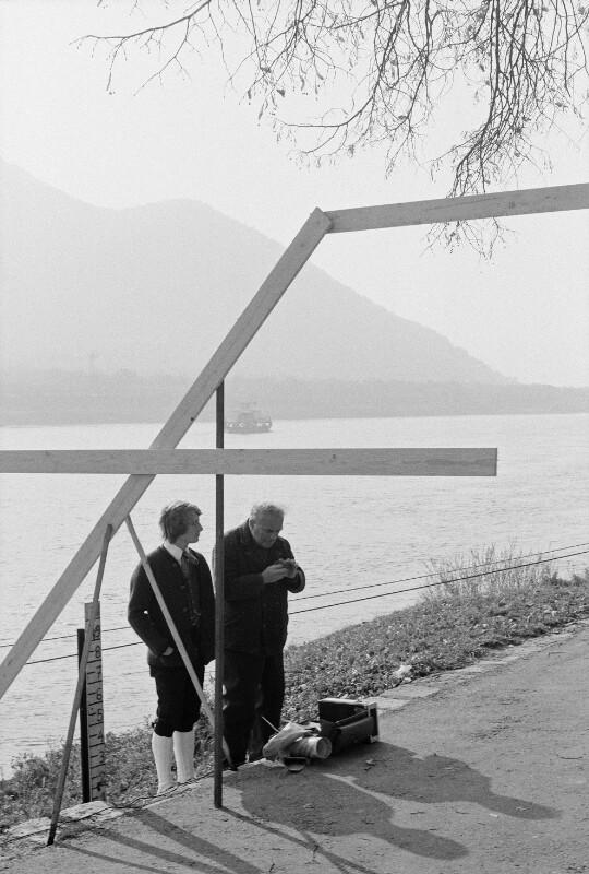 Der österreichische Zoologe und Nobelpreisträger Konrad Lorenz