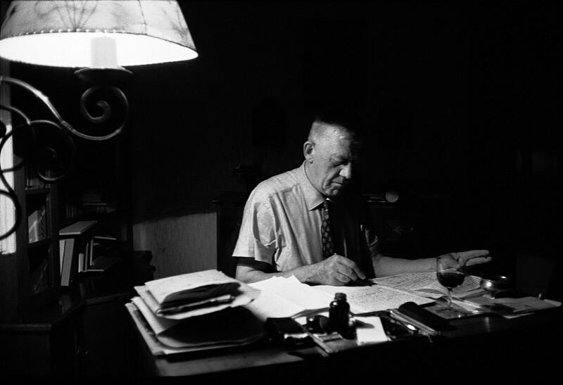 Oskar Kokoschka, Salzburg, 1959