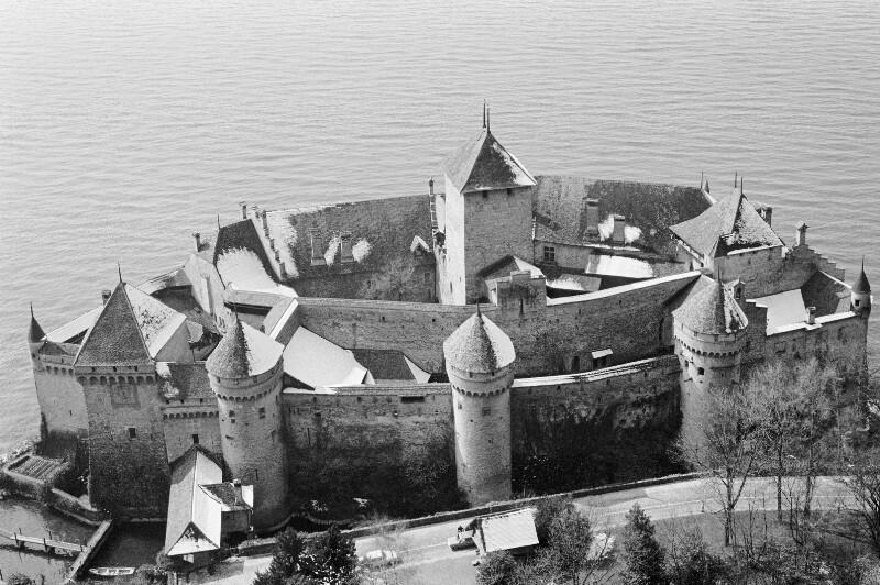 Schloss Chillon am Genfer See, Schweiz