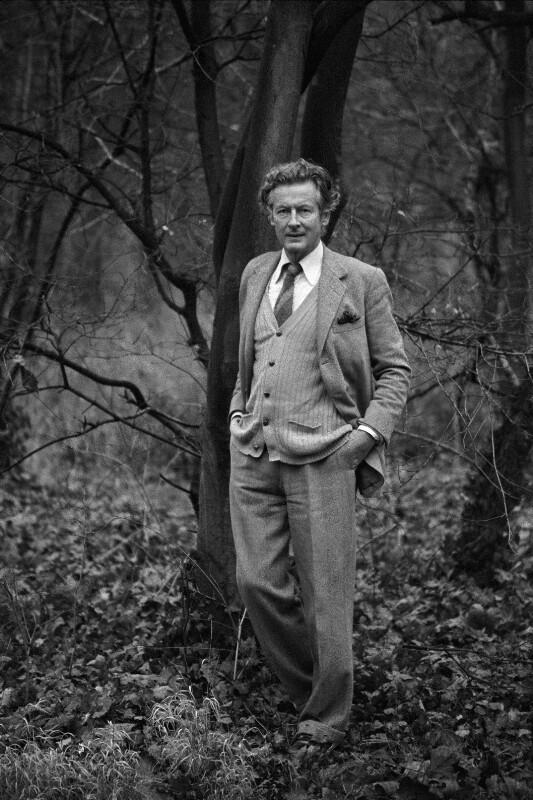 Peter Townsend, Militärflieger und ehemaliger Geliebter von Prinzessin Margaret, Paris, 1979