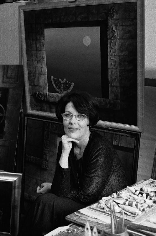 Katalin Janosi, Malerin und Enkelin Imre Nagys, Budapest, 1998